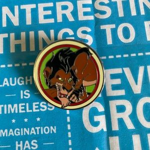 Good Vs Evil Mystery Pin Scar Disney Pin